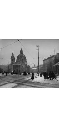 Fototapeta stara Warszawa 1