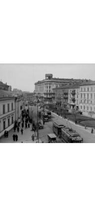 Fototapeta przedwojenna Warszawa 4