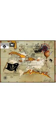 fototapeta dla dzieci 3 (mapa pirata)