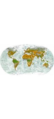 fototapeta dla dzieci 7 (mapa swiata)